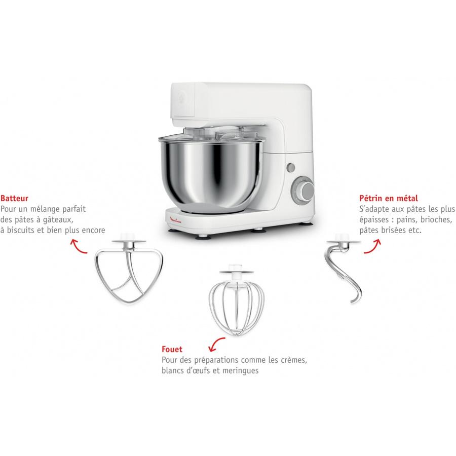 test Robot pâtissier Moulinex QA150110